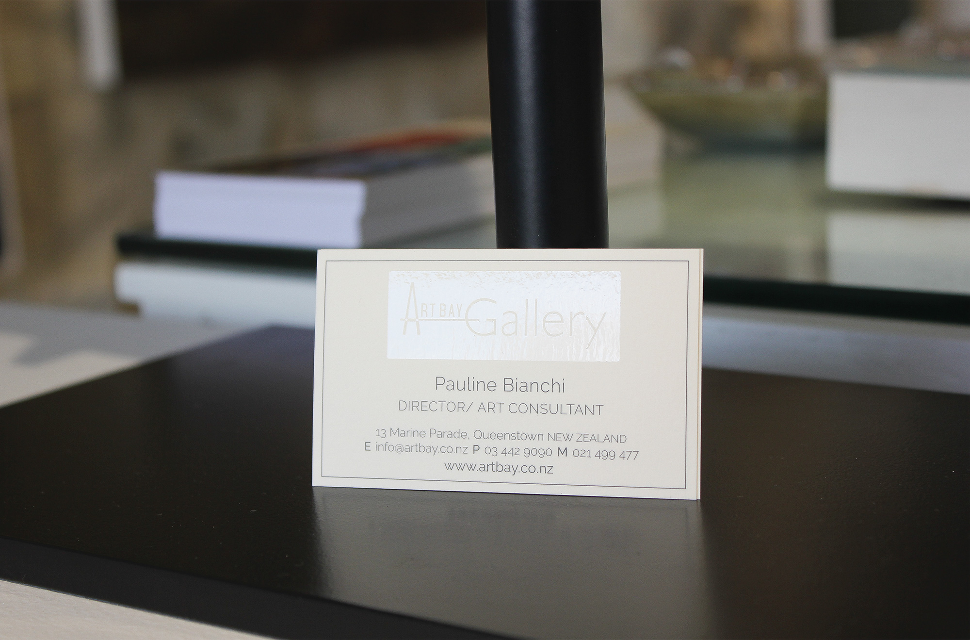 Stunning UV Spot Printed Business Cards printed on Popset Ivory